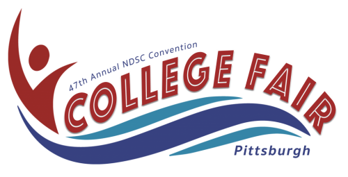 National Down Syndrome Congress logo announcing College Fair in Pittsburgh